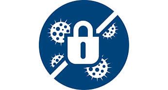 Allergy Lock, tozları hapseder