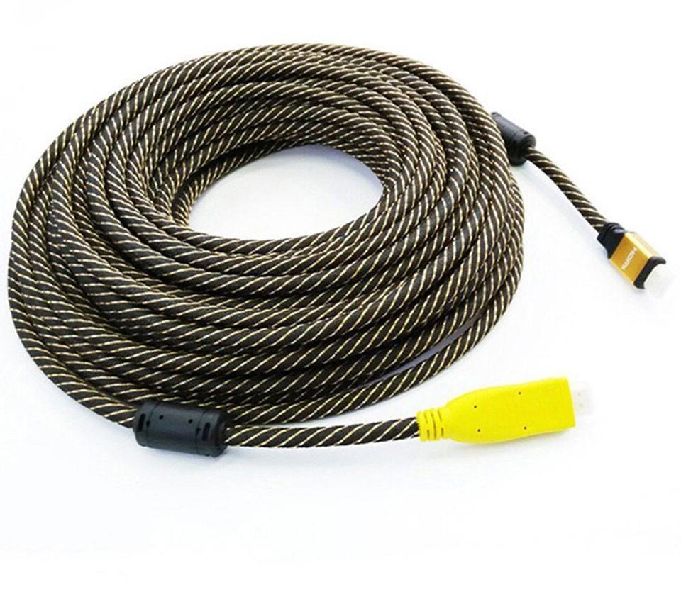 25 metre extansion hdmi güçlendirilmiş kablo 25 metre hdmi kablo