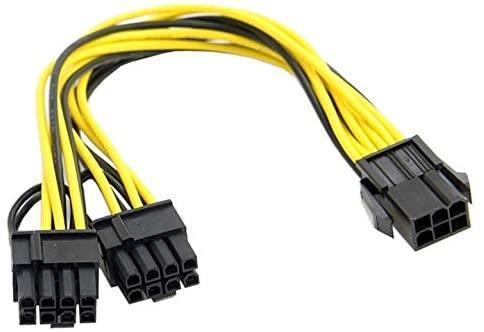 6 pin y kablo 6 pin ekran kartı çoklayıcı kablo 6 pin ekran kartı