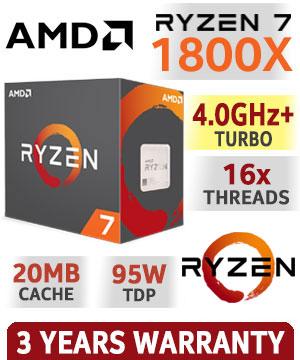 AMD RYZEN 7 1800X ile ilgili görsel sonucu