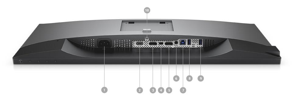 Dell U2518D Monitör - Bağlantı seçenekleri