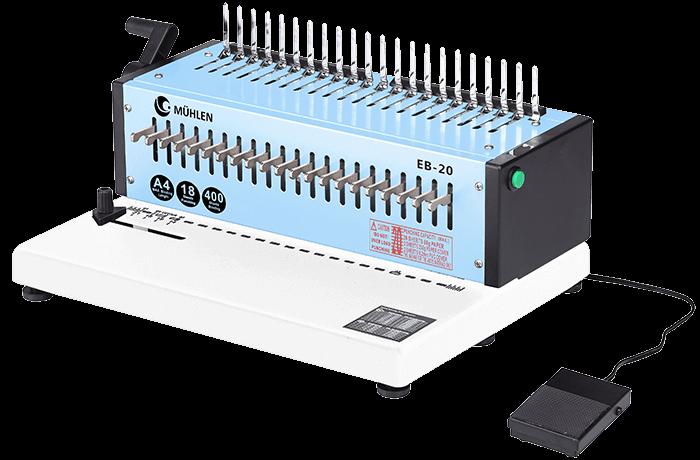 Mühlen EB 20 Spiral Ciltleme Makinesi-3