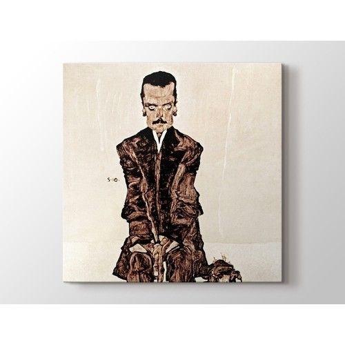 Egon Schiele - Portait Tablo