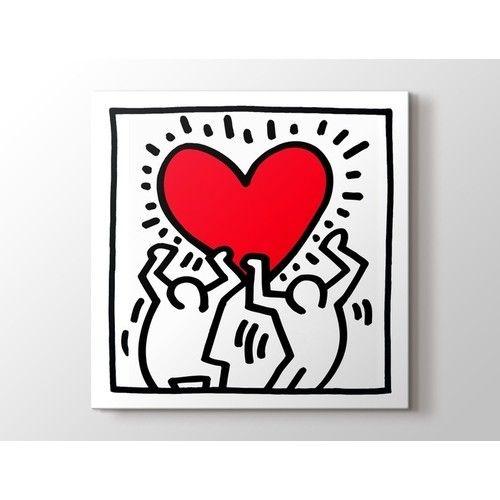 Keith Haring Love II Tablo
