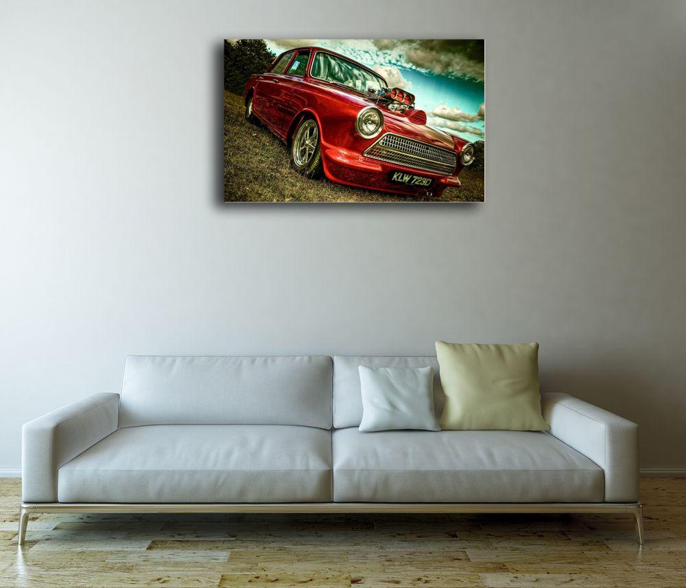 Metallic red Trabant 601