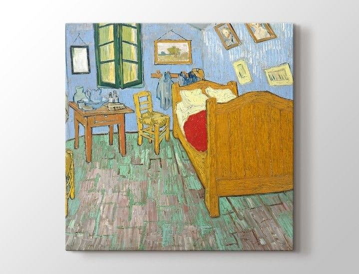 Vincent van Gogh - The Bedroom Tablo