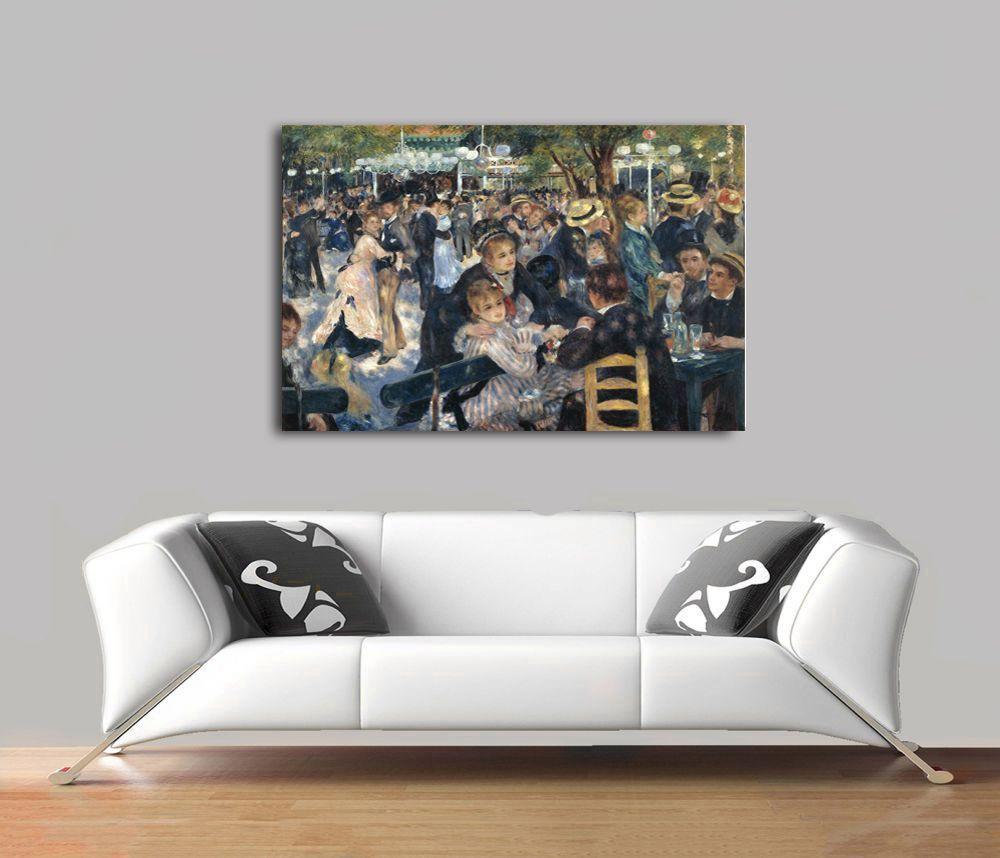 Pierre Auguste Renoir - Bal Du Moulin De La Galette Poster