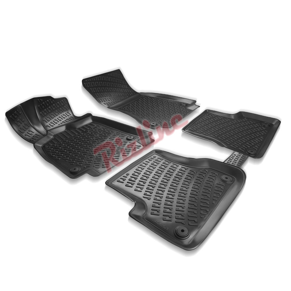 RİZLİNE Audi A6 (C8) 2014-2019 3D Havuzlu Paspas